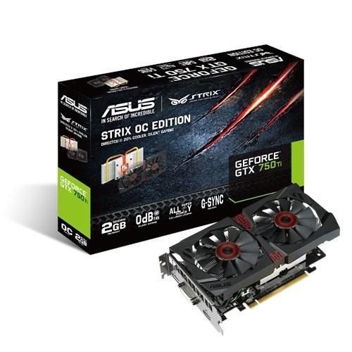 ASUS STRIX GTX750TI-OC -2GD5