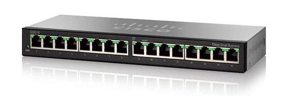Cisco SG92-16 16-Port Gigabit Desktop Switch (SG92-16)