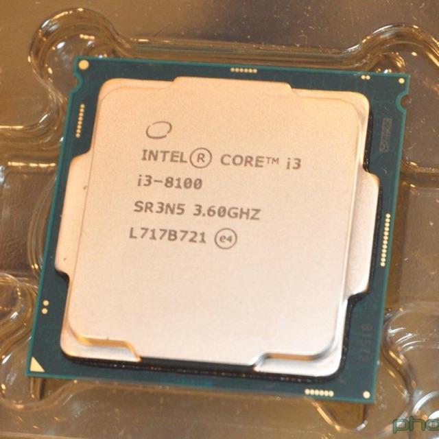 cpu i3-8100