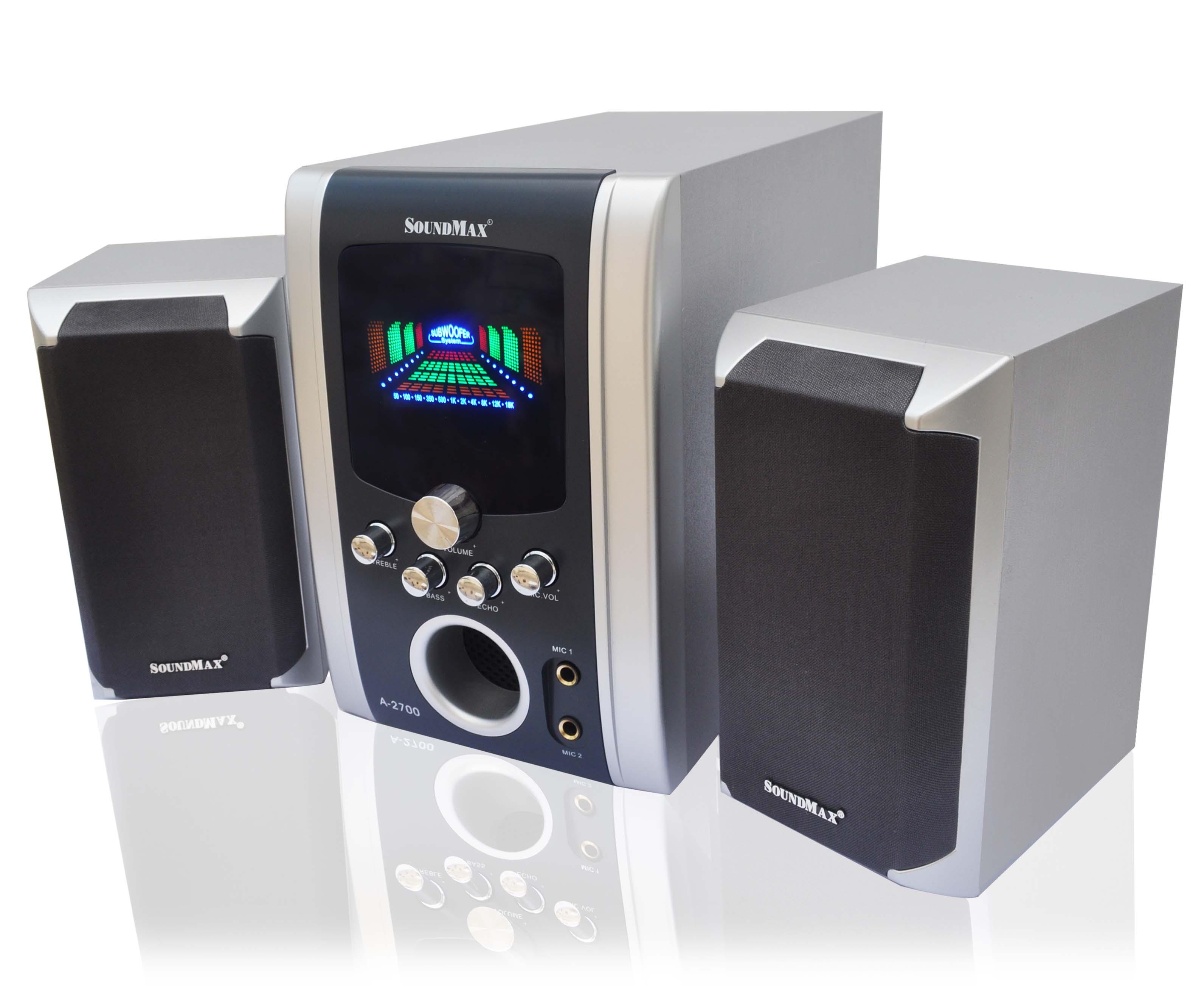 Loa SoundMax A2700/2.1 chính hãng