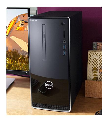 Máy tính Dell Inspiron 3668 cpu intel core i5-7400 8GB 1TB