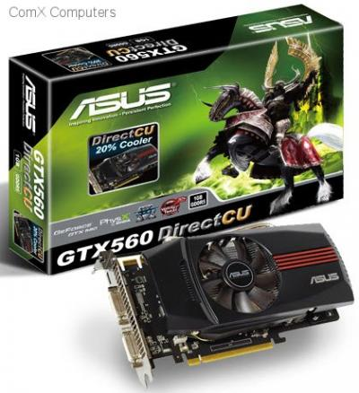 ASUS ENGTX560 DC/2DI/1GD5 GeForce