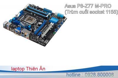 Asus P8-Z77 M-PRO (Trùm cuối socket 1155) chính hãng