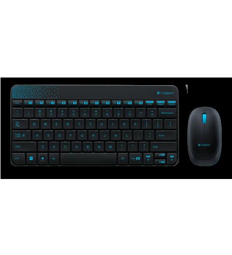 Bộ chuột bàn phím không dây Logitech Wireless Combo MK240 chính hãng