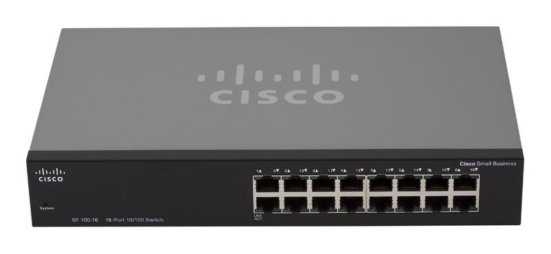 Cisco SR216T, Rack Switch, 16 Port 10/100 Mbps