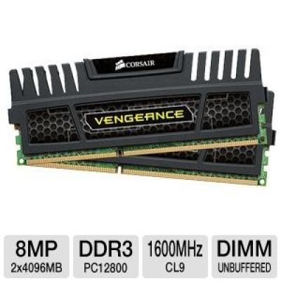 Corsair Vengeance 8GB DDR3 PC12800 1600MHz RAM