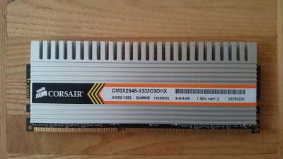CORSAIR XMS3 DDR3 2GB (CM3X2048-1333C9DHX)