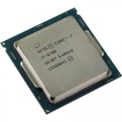CPU Intel Core i7 6700 3.4 GHz / 8MB / HD 530 Graphics / Socket 1151