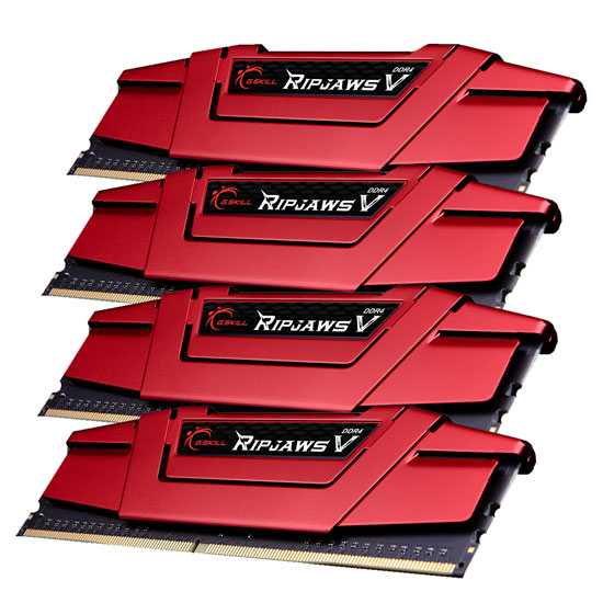 DDR4 4x8GB (2888) G.Skill F4-2800C15Q-32GVR