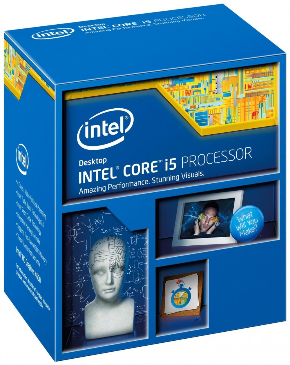 Intel Core i5-4690 Processor  (6M Cache, up to 3.50 GHz)