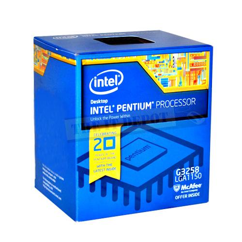 Intel Pentium Processor G3258  (3M Cache, 3.20 GHz)
