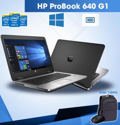 Laptop HP Probook 640 G1 ( Core I5 4300M – Ram 4G – HDD 500G – 14″ – HD) Giá Cực Kì Ưu Đãi Đây