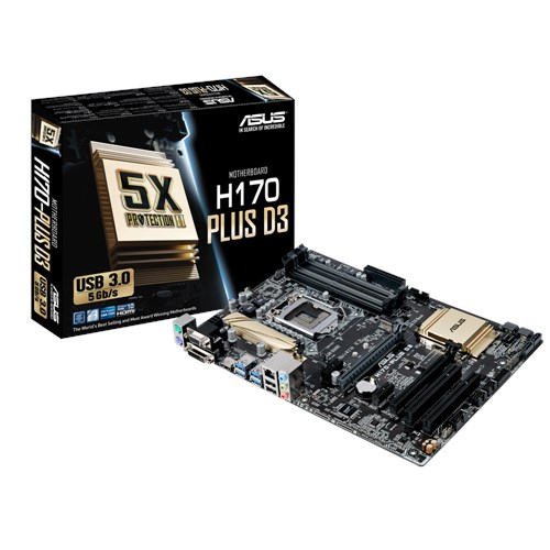Main Asus H170-PLUS D3 Socket 1151 (H170-PLUS D3)