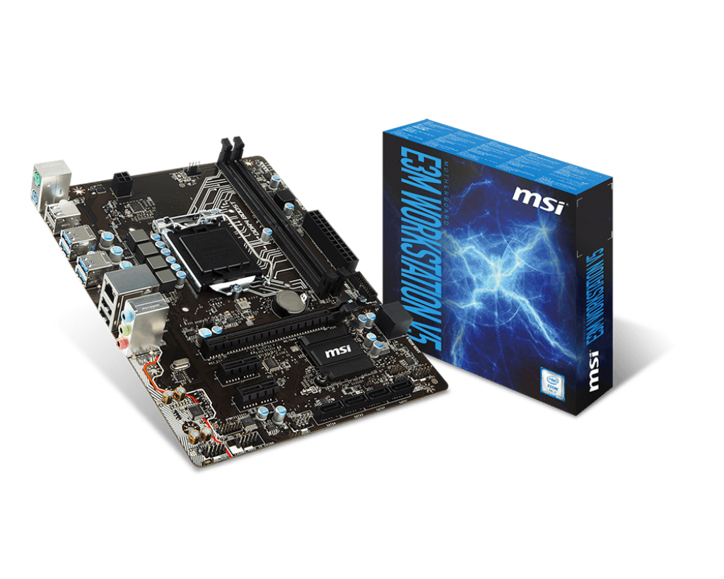 Mainboard MSI E3M WORKSTATION V5 Socket 1151 (E3M WORKSTATION V5)