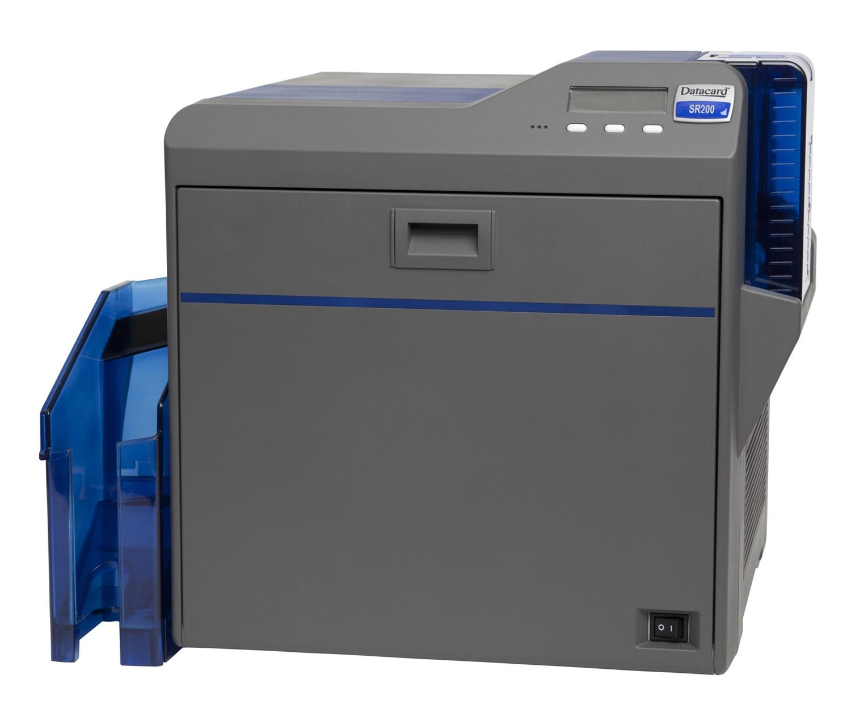 Máy in thẻ Datacard SR200, in màu một mặt