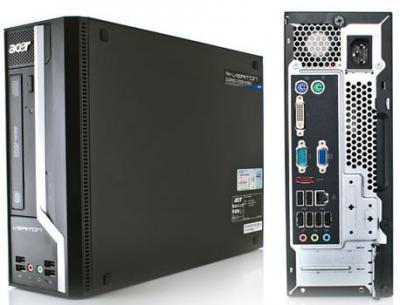 máy tính văn phòng  acer X2611g main h61 g2030 4gb 500gb chính hãng