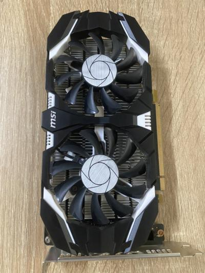 MSI GTX 1050Ti 4GT OCV1 - 2 fan