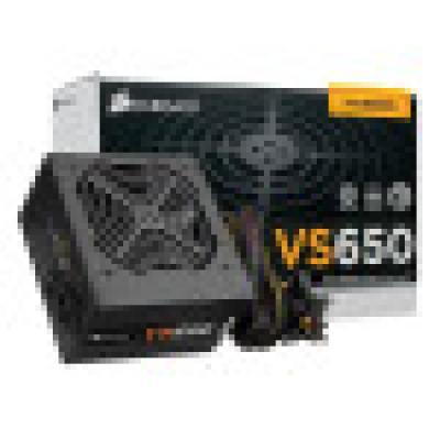 Nguồn Corsair VS650 650W -80 Plus