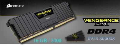 RAM Corsair Vengeance LPX 16GB (2x8GB) DDR4 Bus 2400 MHz