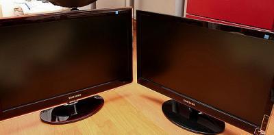Samsung P2370H LCD HDMI , DVI,VGA