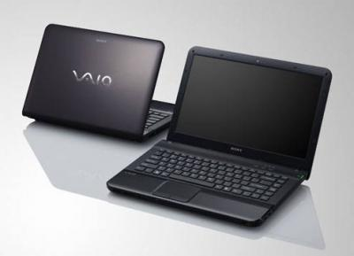 Sony Vaio VPCEA42EG Core i3-380M, 2GB Ram, 320GB HDD, VGA HD Graphics, 14-inch
