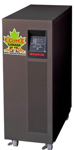 UPS 6000VA SANTAK ONLINE 6KVA–MODEL C6KE