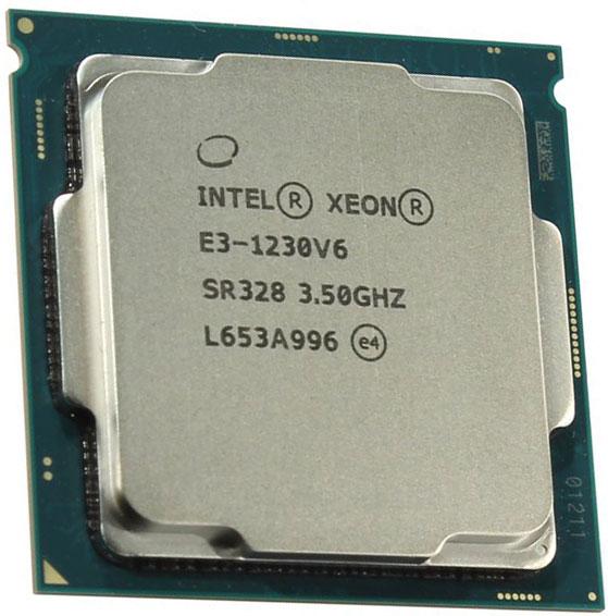 Xeon E3-1230 V6
