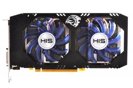 VGA His RX 470-4G D5 2 fan