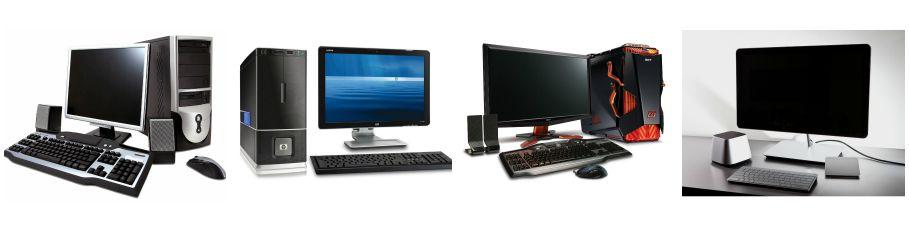 bộ máy tính cũ văn phòng học tập