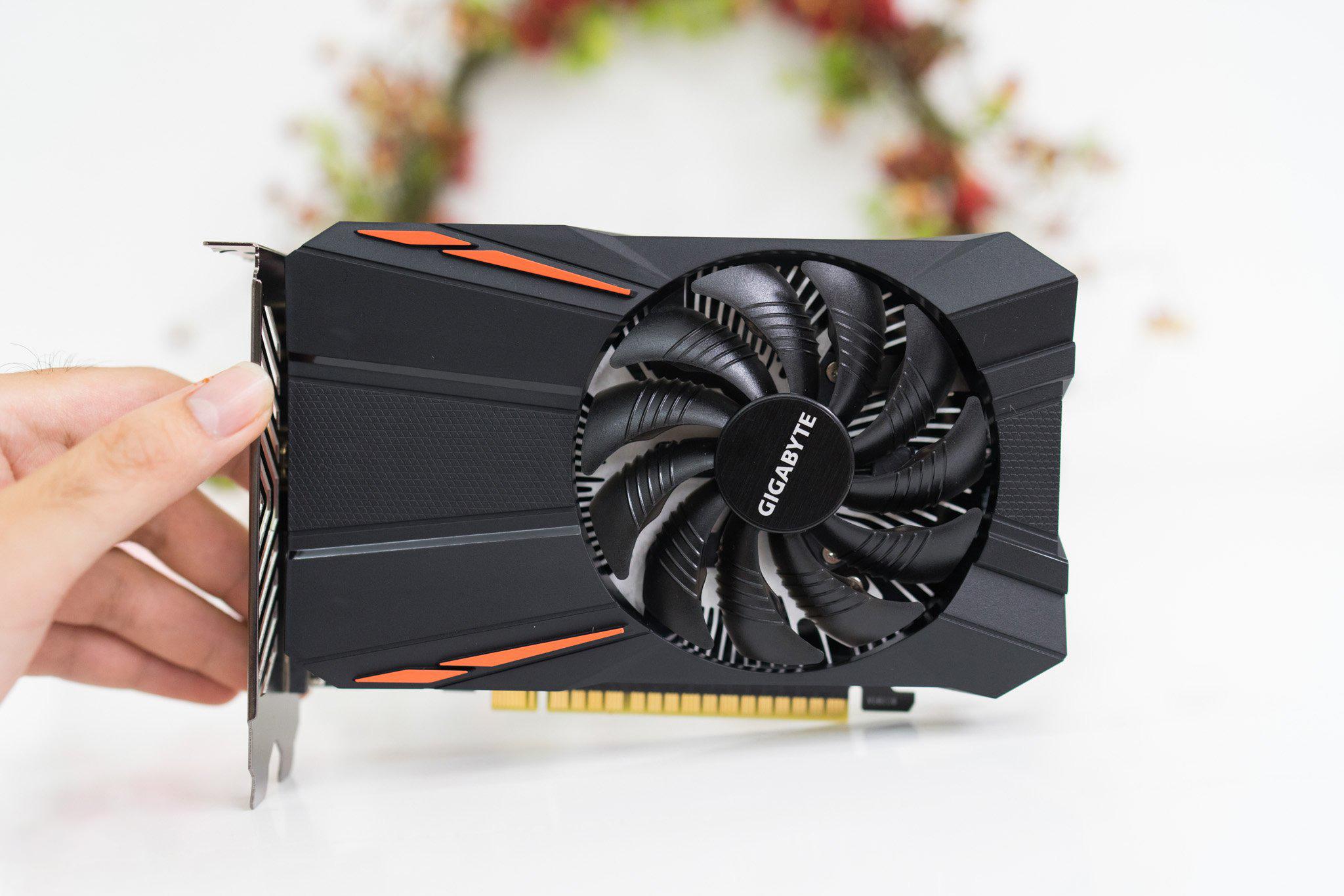 Card màn hình GIGABYTE GeForce GTX 1050 2GB GDDR5 (GV-N1050D5-2GD)