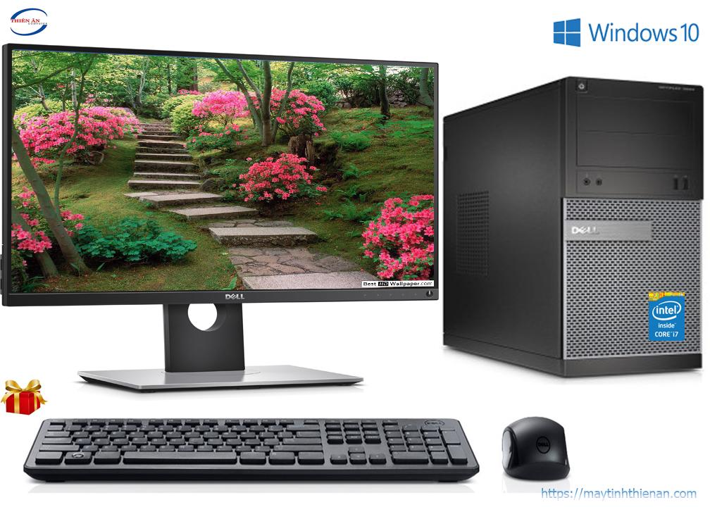 Dell Optiplex MT(3020/7020/9020):Core i7-4770/16G/SSD 120GB/22inch