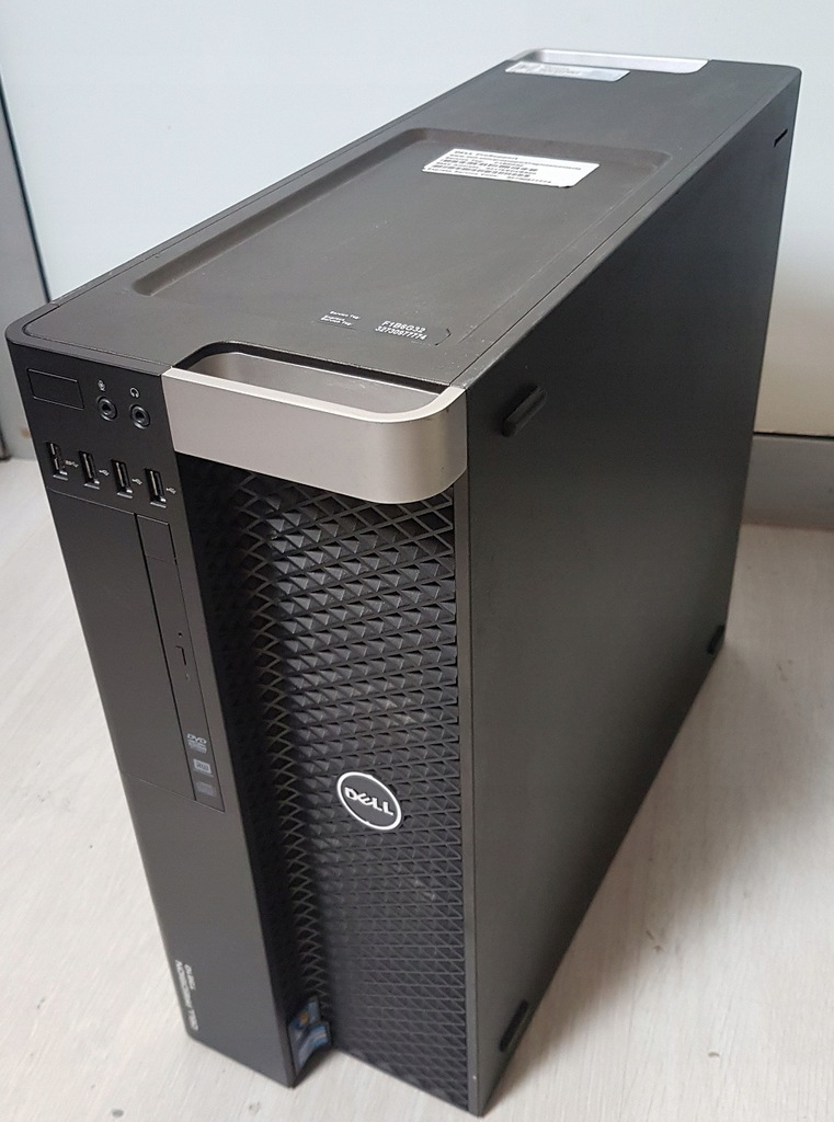 Dell T3600 Workstations (CPU XEON-E5 2680/RAM 32GB ECC/SSD 256GB/HDD 1TB