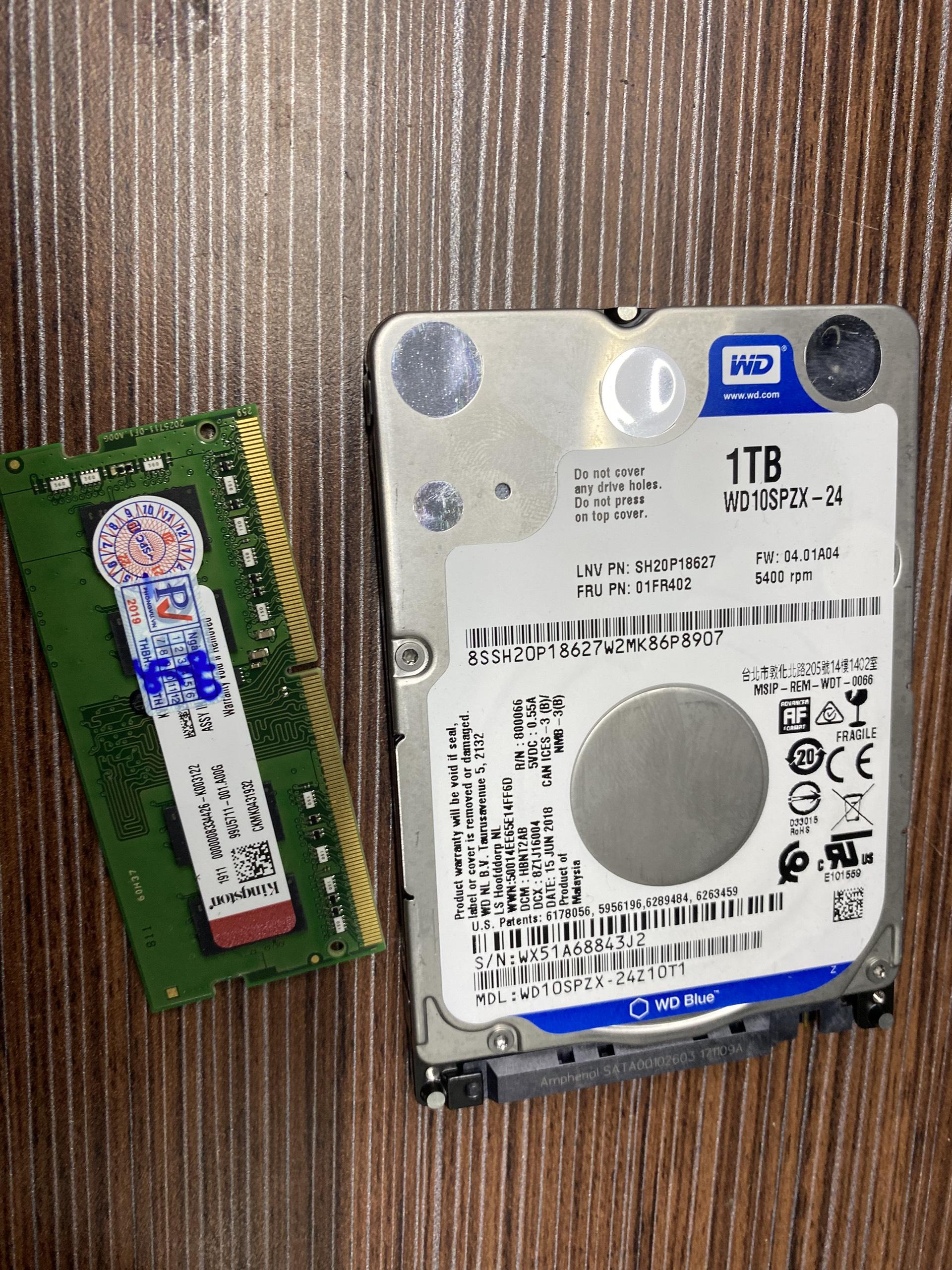 hdd laptop 1tb tháo máy như mới