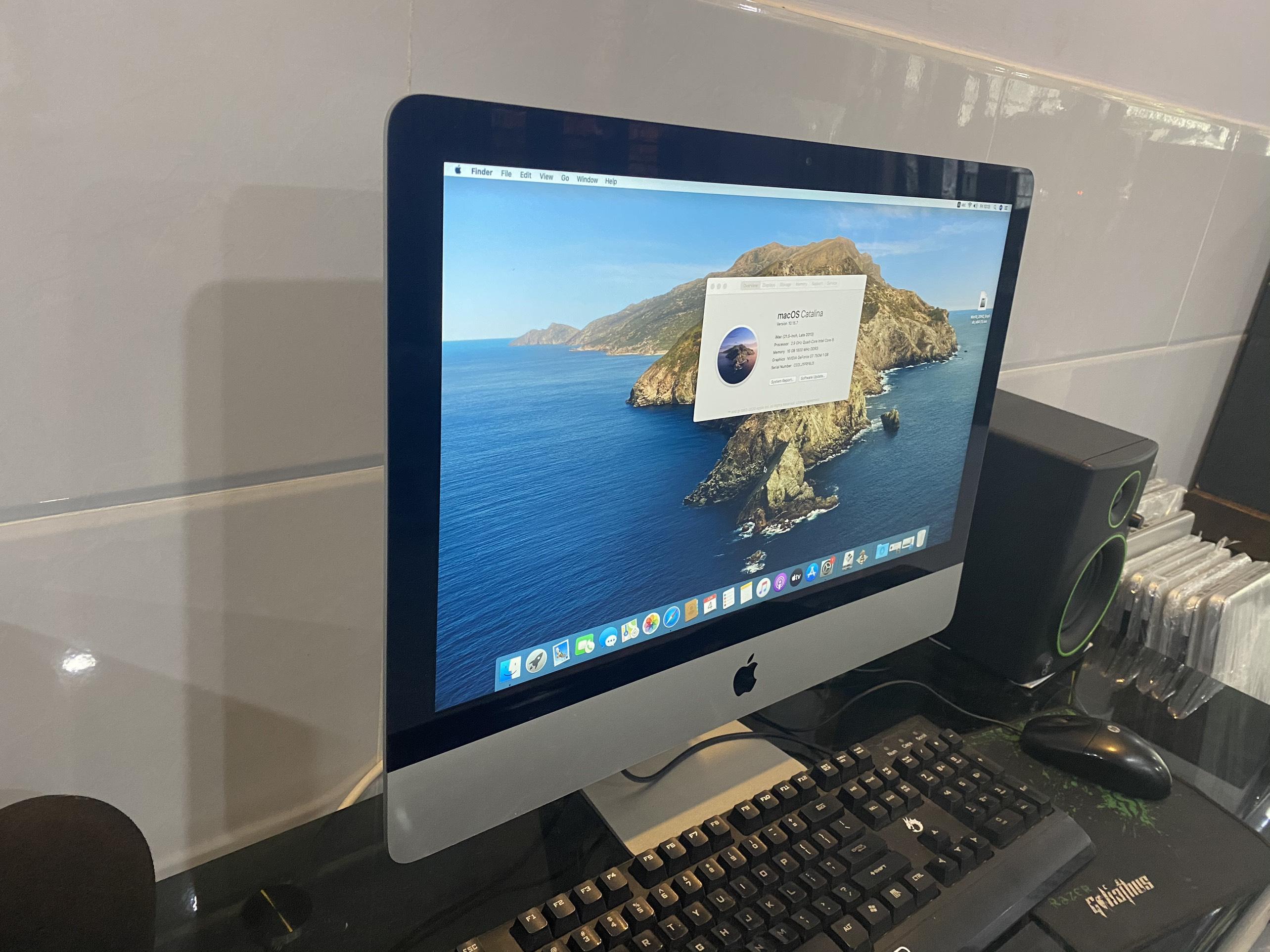 iMac ME087 2013 i5 2.9Ghz/ RAM 16GB/ SSD120GB/ 21.5 INCH FHD