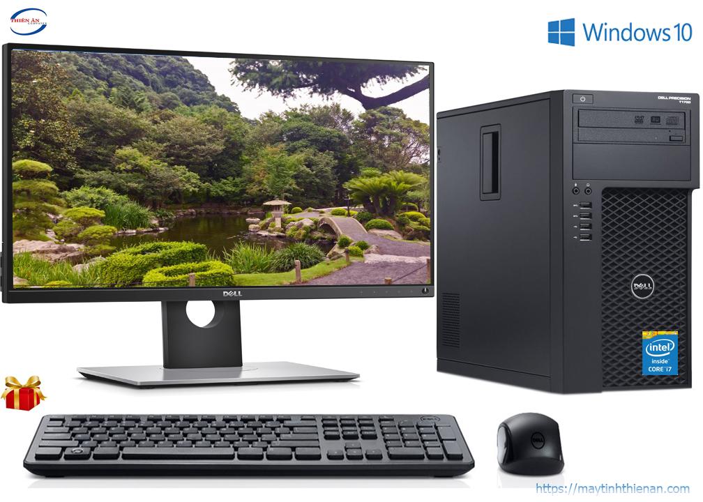Máy Bộ Dell T1700: Core i7-4770/4GB/250GB/20inch