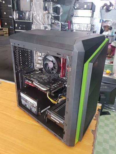 AMD RYZEN 3 8GB/2400 SSD 120GB HDD 1TB VGA 1050TI