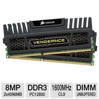 Corsair Vengeance 8GB DDR3 PC12800 1600MHz RAM