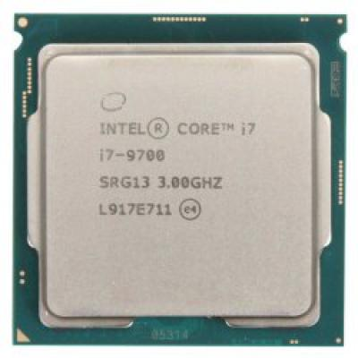 CPU Intel Core i7-9700 (8 Cores 8 Threads/ 12MB/ Coffee Lake R)