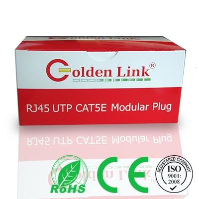 Đầu bấm cáp mạng Rj45 Golden Link UTP CAT5E