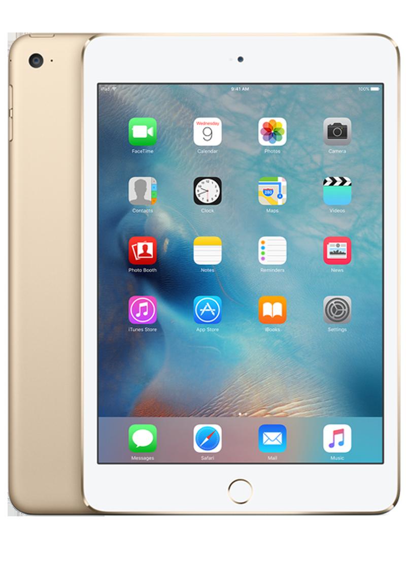 iPad mini 4 Wi-Fi Cellular 128GB - màu Vàng