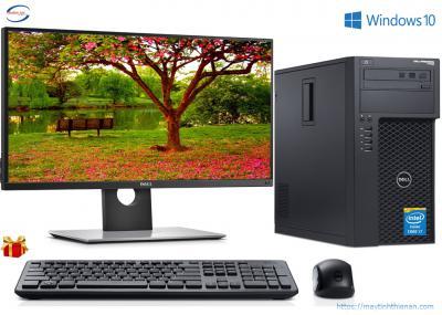 Máy Bộ Dell T1700: Core i7-4770/16GB/SSD 120GB/24inch