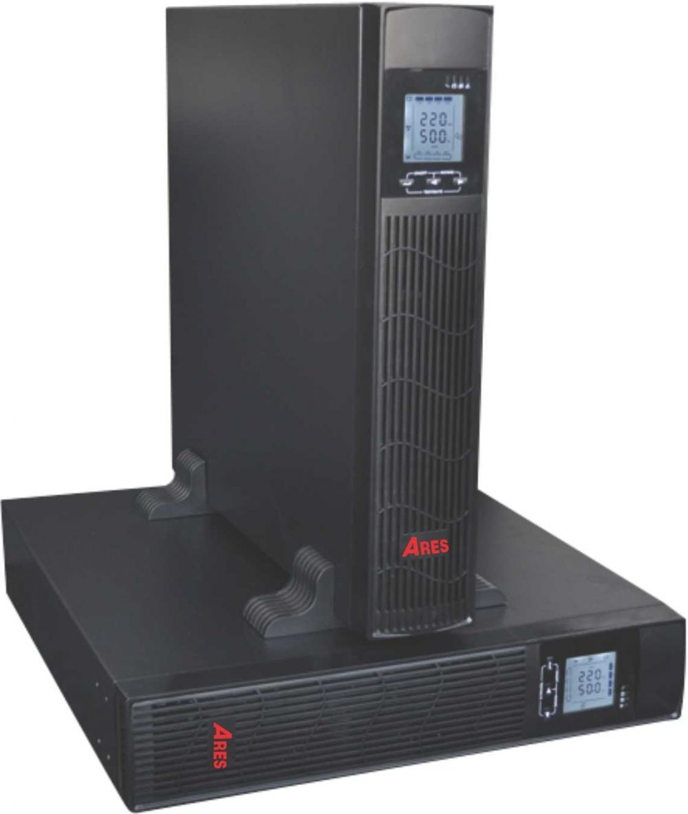 UPS 10KVA Ares AR9010IIRT (9000w) Online Rack/Tower