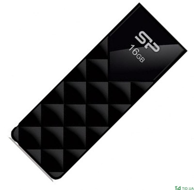 USB Silicon 16GB, 2.0 (SP016GBUF2U03V1K)